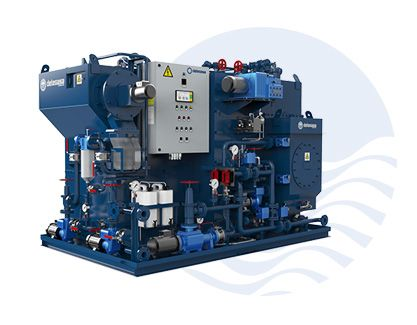Membrane Sewage Treatment Plant