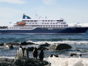 Detegasa inks contract for Polar Cruise Ship.
