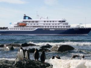 Detegasa inks contract for Polar Cruise Ship.