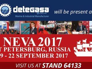 DETEGASA estará presente en la 14º edición de la Feria Internacional Marítima de NEVA
