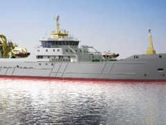 NEW SEWAGE TREATMENT UNIT FOR FISHING TRAWLER