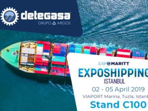 Detegasa attends Exposhipping Expomaritt 2019