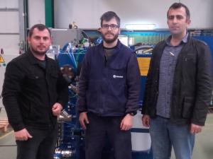 Pe-Gu maritime visits Detegasa for technical training