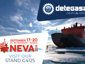 DETEGASA will attend to NEVA 2019 next september 17th in San Petesburg (Russia)