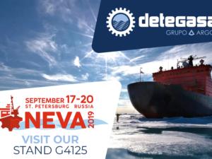 Detegasa asistirá a NEVA 2019 del próximo 17 al 20 de septiembre en Rusia